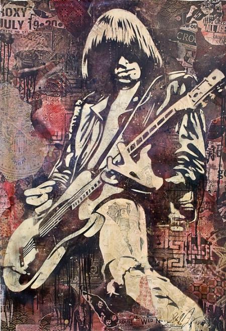 "Shepard Fairey's ""Joey Ramone"""