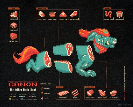 Ganon: The Other Dark Meat