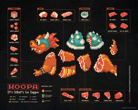 Koopa: It's What's For Supper